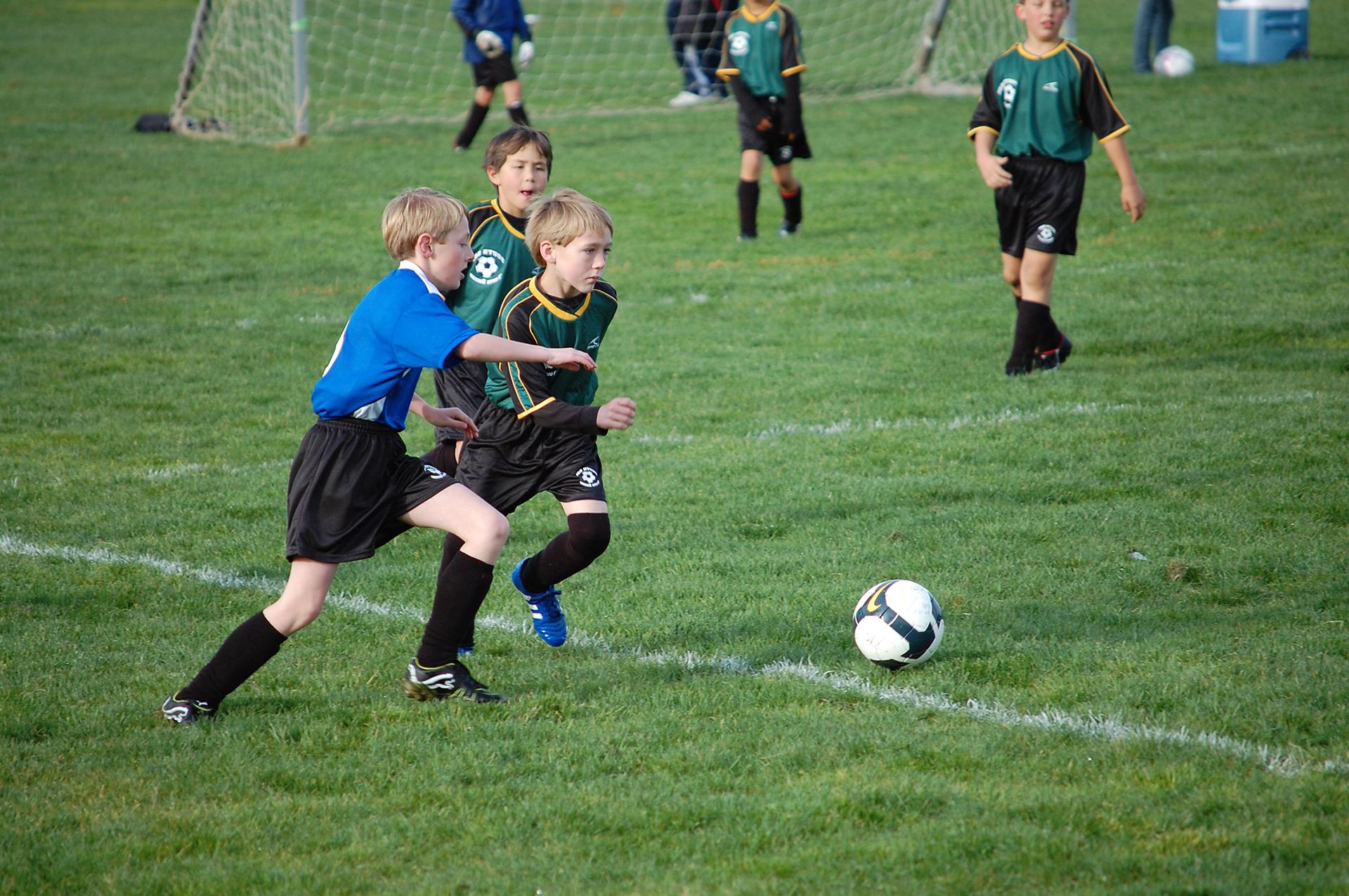 Советы по обучению юных футболистов